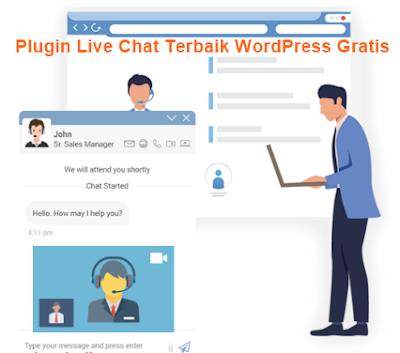 Plugin Live Chat Terbaik WordPress Gratis