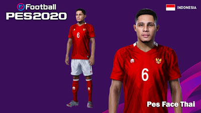 PES 2021 Faces Evan Dimas by PES Face Thai