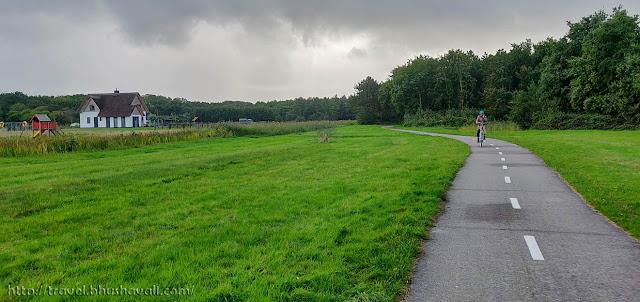 Texel Island cycling Fietsknooppunten Fietspad