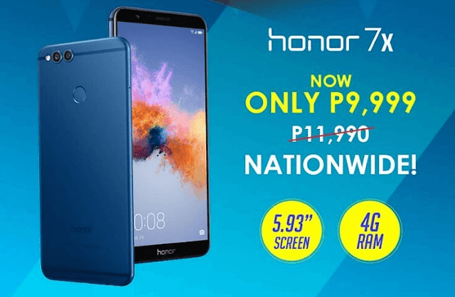 Honor 7X Smartphone Receives a Price Cut