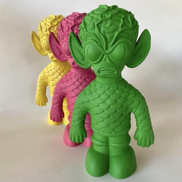 Last Resort Toys Diener Space Creatures XL Veined Cranium Creature
