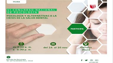 CONGRESO DE PSICOLOGIA 2018 PIURA