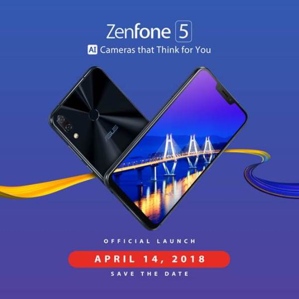ASUS ZenFone 5 Series Coming to PH on April 14!