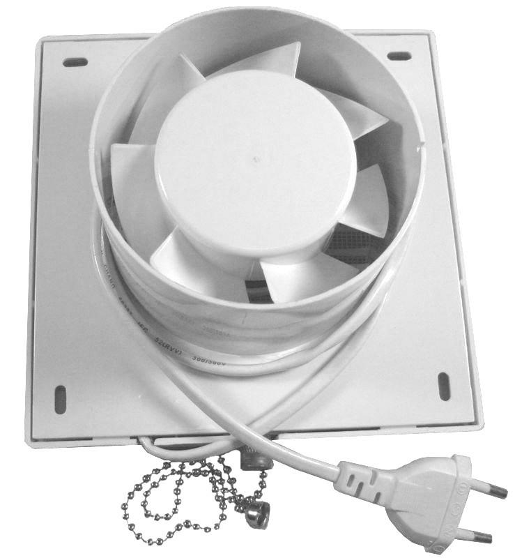 Boomdealer 6 Bathroom Exhaust Fan