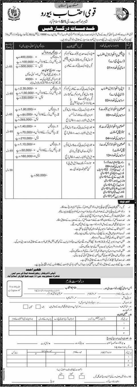 National Accountability Bureau NAB Latest Jobs April 2020