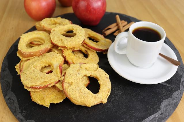 Rosquinhas de maçã Pensando ao contrário por Camila Victorino