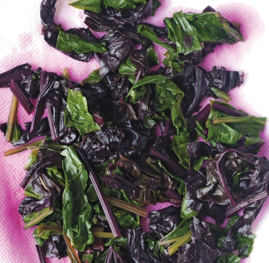 Beet Leaves: A Good Food Day