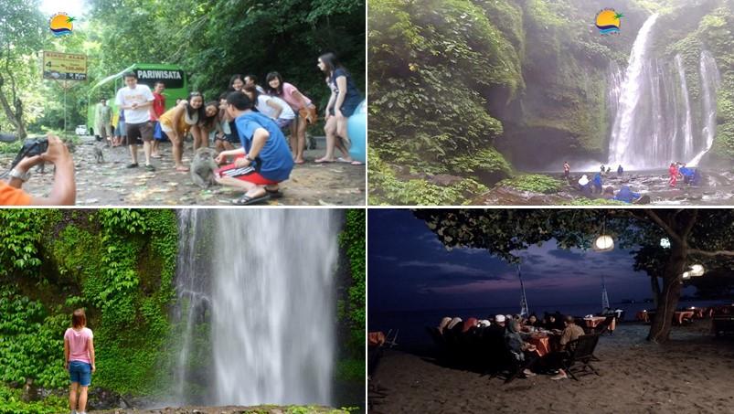 Objek Wisata Air Terjun Tiu Kelep di Hari ke 3