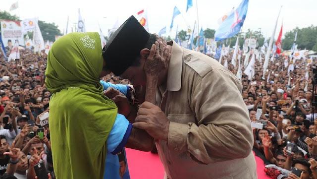 Prabowo: Nggak Masalah Saya Dihina, Saya Bela Rakyat