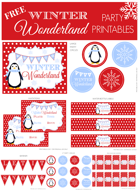 http://catchmyparty.com/blog/free-printables-winter-wonderland-birthday