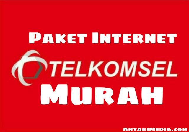 Paket internet Telkomsel murah