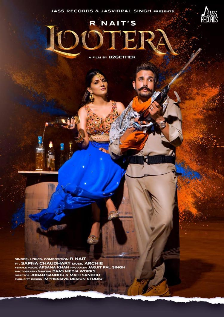 Lootera Lyrics - R Nait New Song 2019 Ft Sapna Chaudhary