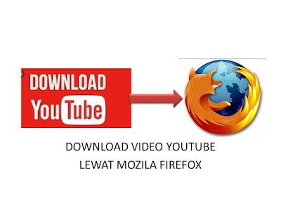 CARA MENDOWNLOAD VIDEO YOUTUBE LEWAT MOZILA FIREFOX