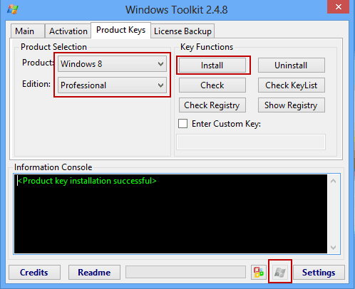 how to reinstall windows 8 without product key