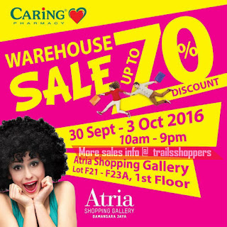 Caring Pharmacy Warehouse Sale 2016