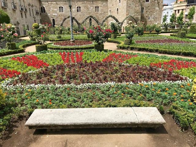 Jardim de Santa Bárbara em Braga - Portugal