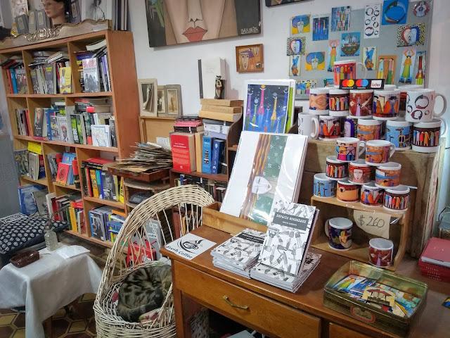 Libraria Moebius din Montevideo, Uruguay