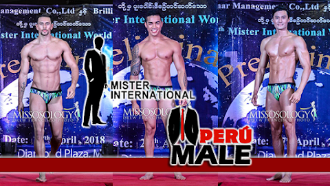 Mister International 2017 / 2018 │ Preliminary Swimwear Competition