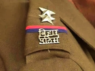 police-misbehaviong-with-journalist-madhubani