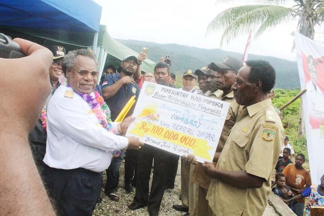Lima Kampung di Mimika Barat Jauh Dapat Bantuan Ombas