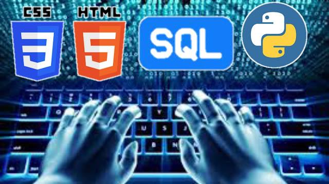 Learn Python,SQL,HTML