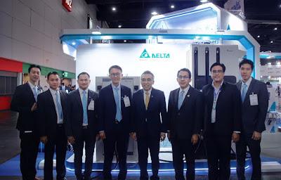 Delta จัดแสดงประสิทธิภาพโซลูชันใหม่ล่าสุดด้านยานยนต์ไฟฟ้า พลังงานหมุนเวียน  และดาต้า เซ็นเตอร์ ภายในงาน ASEAN Sustainable Energy Week 2020