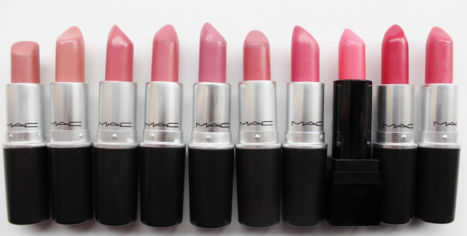 MAC Please Me Lipglass, Lipstick, Nail Lacquer Review ...  Mac Pink Plaid Vs Please Me