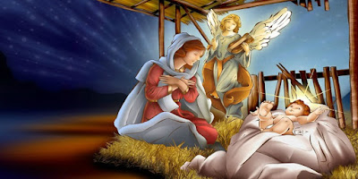 imagem do menino jesus na manjedoura mês de dezembro
