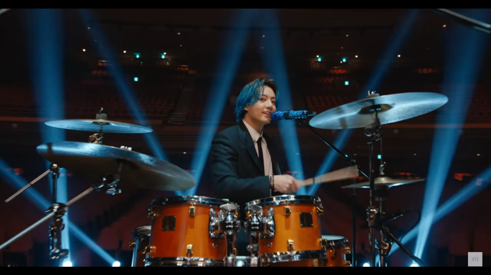 BTS Performs at 'Music On A Mission' Charity Concert, Jungkook Becomes Drummer