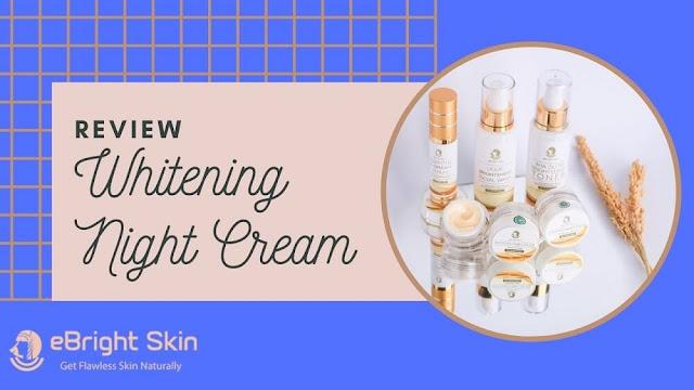 Whitening Night Cream eBright Skin