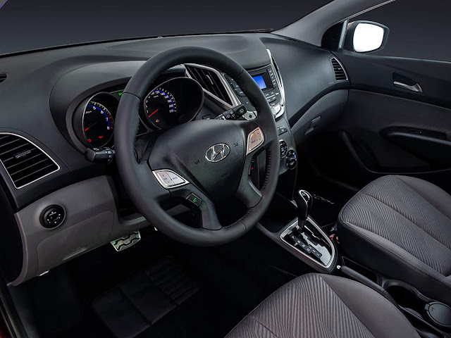 Hyundai HB20 1.6 Automático 2013 a 2015 - interior