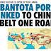 HAMBANTOTA PORT TO BE LINKED TO CHINA'S ONE BELT ONE ROAD