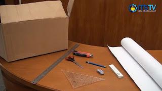 Cara Membuat Meja Laptop Dari Kardus Bekas - Cara Membuat Kerajinan Meja Laptop Dari Kardus