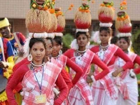 Adivasi dance photo