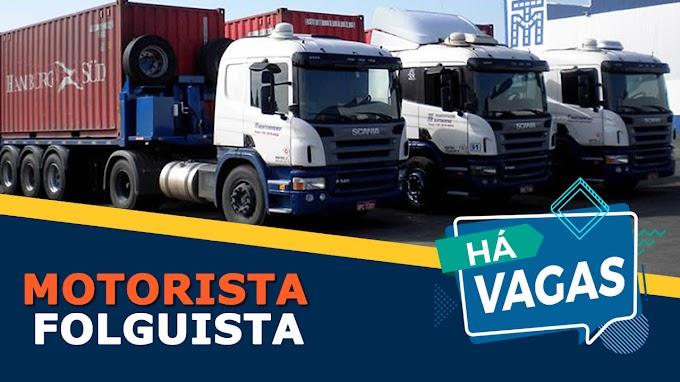 Transportadora Montemorense abre vagas para motorista carreteiro