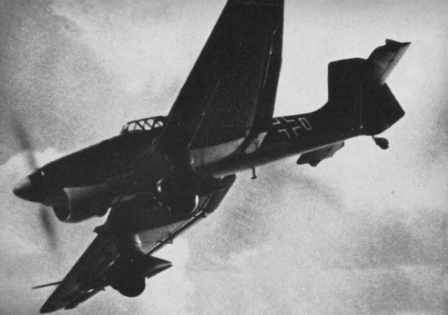 Γερμανικό Ju 87B Stuka γύρω στο 1940