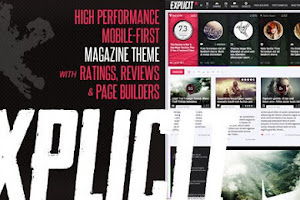 Download Explicit v2.5 | Review/Magazine WordPress Theme