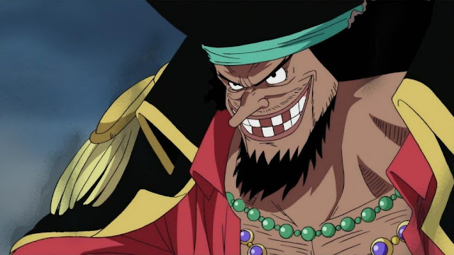 BLACKBEARD / Marshall D. Teach  | Top 10 Strongest Characters of One Piece