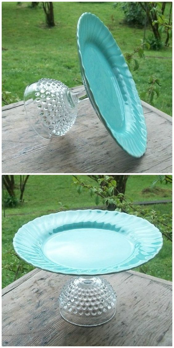 platos y vasos de casa