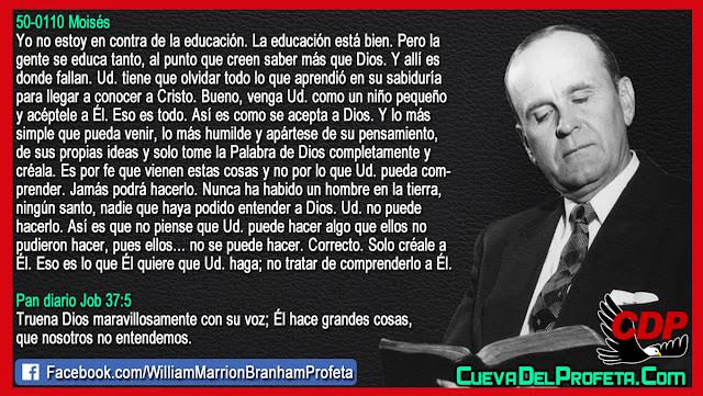 Nunca ha habido un hombre que haya podido entender a Dios - William Branham en Español