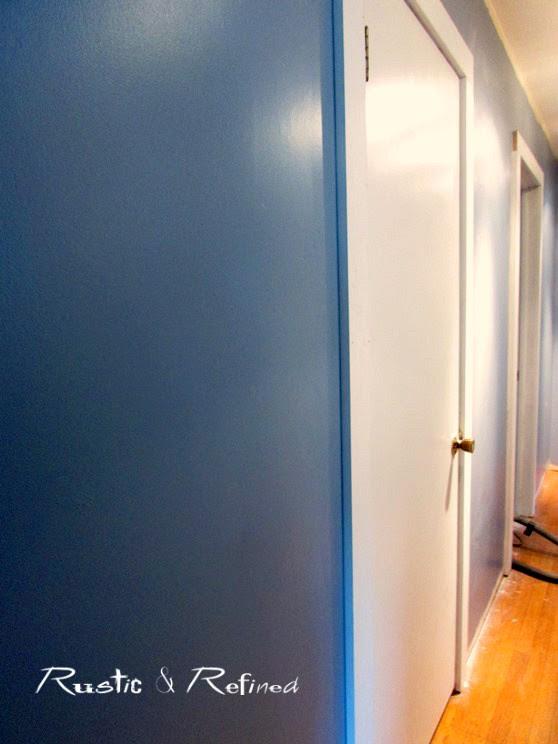 Updating a skinny hallway