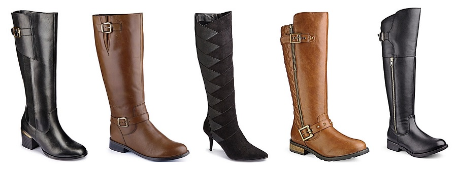 Wide Fitting Knee Boots, Curvy Calf Boots, Knee High Boots, Simply Be, The Style Guide Blog
