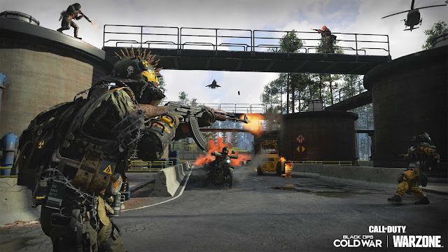 Call of Duty: Black Ops Cold War duga map