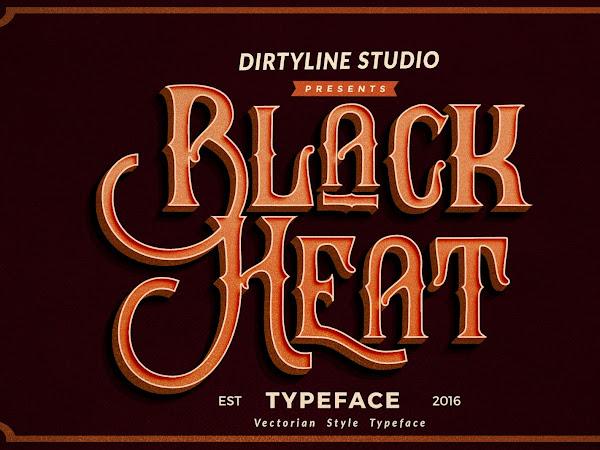Download Black Heat Font Free
