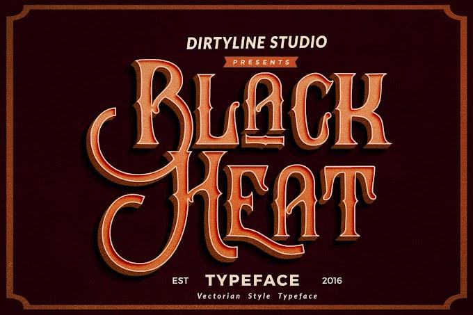 Download Black Heat Font