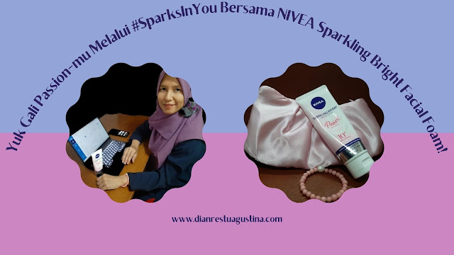 NIVEA Sparkling Bright Facial Foam