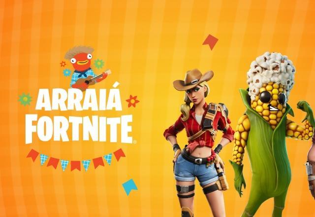 Fortnite vai ter Arraiá especial no servidor brasileiro