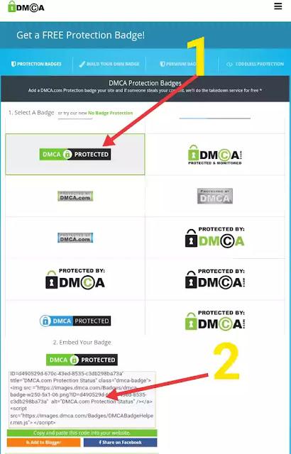 DMCA Kya he. Blogger Blog Ko DMCA  Protected Kaise Kare