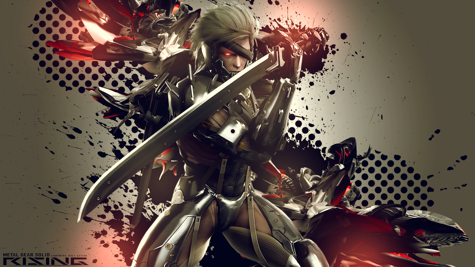 42 Hd Raiden Wallpaper On Wallpapersafari: WallpapersKu: Metal Gear Rising: Revengeance Wallpapers+Themes