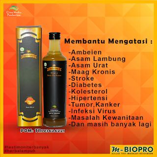 M-BIOPRO Herbal Probiotik Solusi 1001 Penyakit